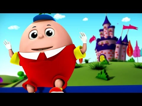 Humpty Dumpty | Nursery Rhymes For Kids And Childrens | 3d Songs For Babies