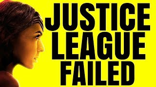 Why Justice League Failed