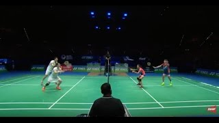 Yonex All England Open 2017 | Badminton F M1-XD | Chan/Goh vs Lu/Huang
