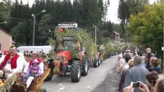 DOŻYNKI GMINY ISTEBNA - 16.09.2012 - HD