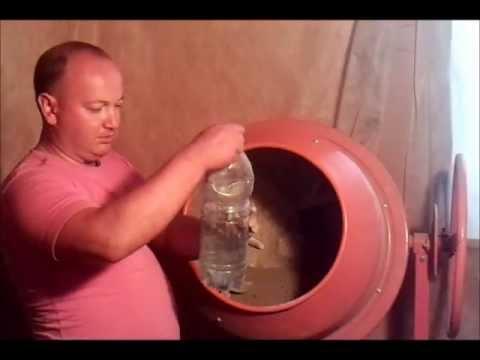 Производство кирпича в домашних условиях часть 2
