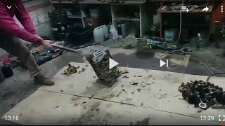видео Проверка компрессии в цилиндрах Mitsubishi Outlander XL 2007