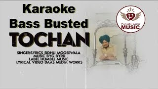 TOCHAN Karaoke Instrumental By Punjabi Guru (LYRICAL VIDEO) | SIDHU MOOSE WALA