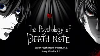 Psychology of Death Note: Justice vs Psychopathology | Seishun Con