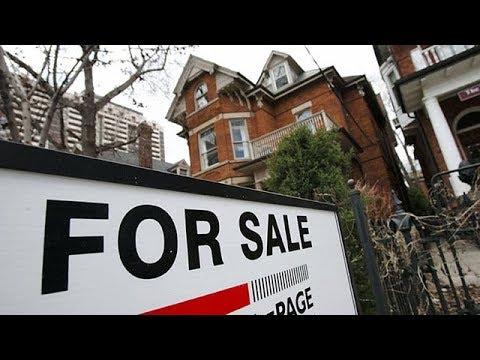 Toronto home sales drop