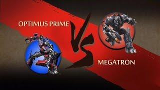 Shadow Fight 2 Transformers Optimus Prime Vs Megatron
