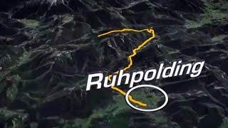 BIKE TRANSALP 2015  - Animierter Streckenverlauf