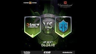 TNC.Predator vs Entity Gaming Game 1 (BO3) l The International 2018 SEA Semi Finals