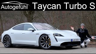 Porsche Taycan Turbo S - FULL REVIEW with German Autobahn 2021