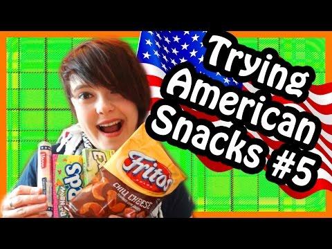 Scottish Trying American Snacks #5