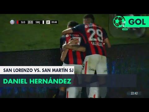 Daniel Hernández (2-1) San Lorenzo vs San Martín SJ | Fecha 9 - Superliga Argentina 2018/2019