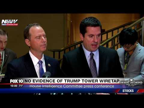 NO EVIDENCE Trump Tower Was Wiretapped - House Intelligence Committee Leaders PRESS CONFERENCE (FNN)