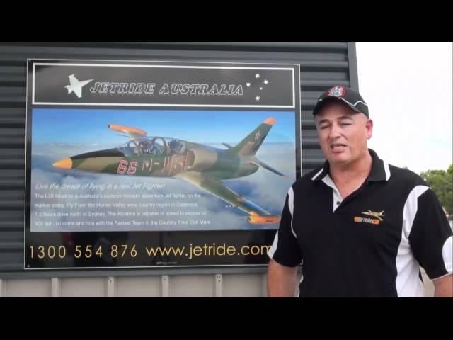 Mark Pracy Interview L39 Jet Reno Air Racer