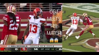 Odell Beckham & Jarvis Landry vs Richard Sherman FULL Matchup (2019) Richard Sherman MIC'D UP