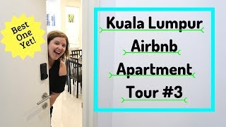 Gambar cover New Kuala Lumpur, Malaysia Airbnb Apartment Tour | Chubby and Away