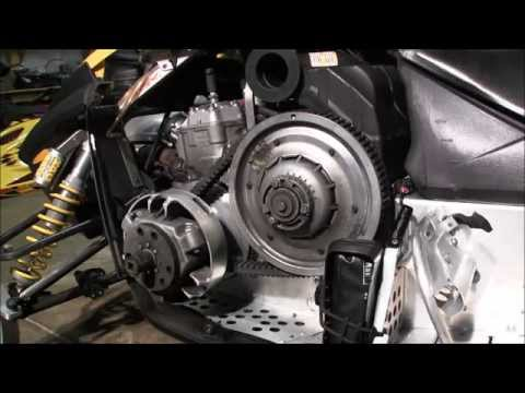 how to change a clutch drive belt 2008 skidoo mxz