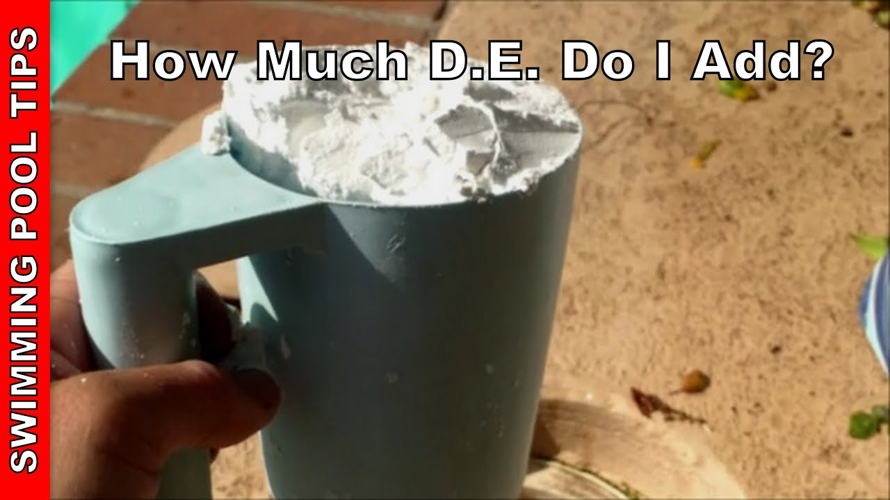 How Much D E Diatomaceous Earth Do I Add Youtube