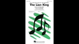 The Lion King (Medley, 1994) (SAB Choir) - Arranged by Mark Brymer