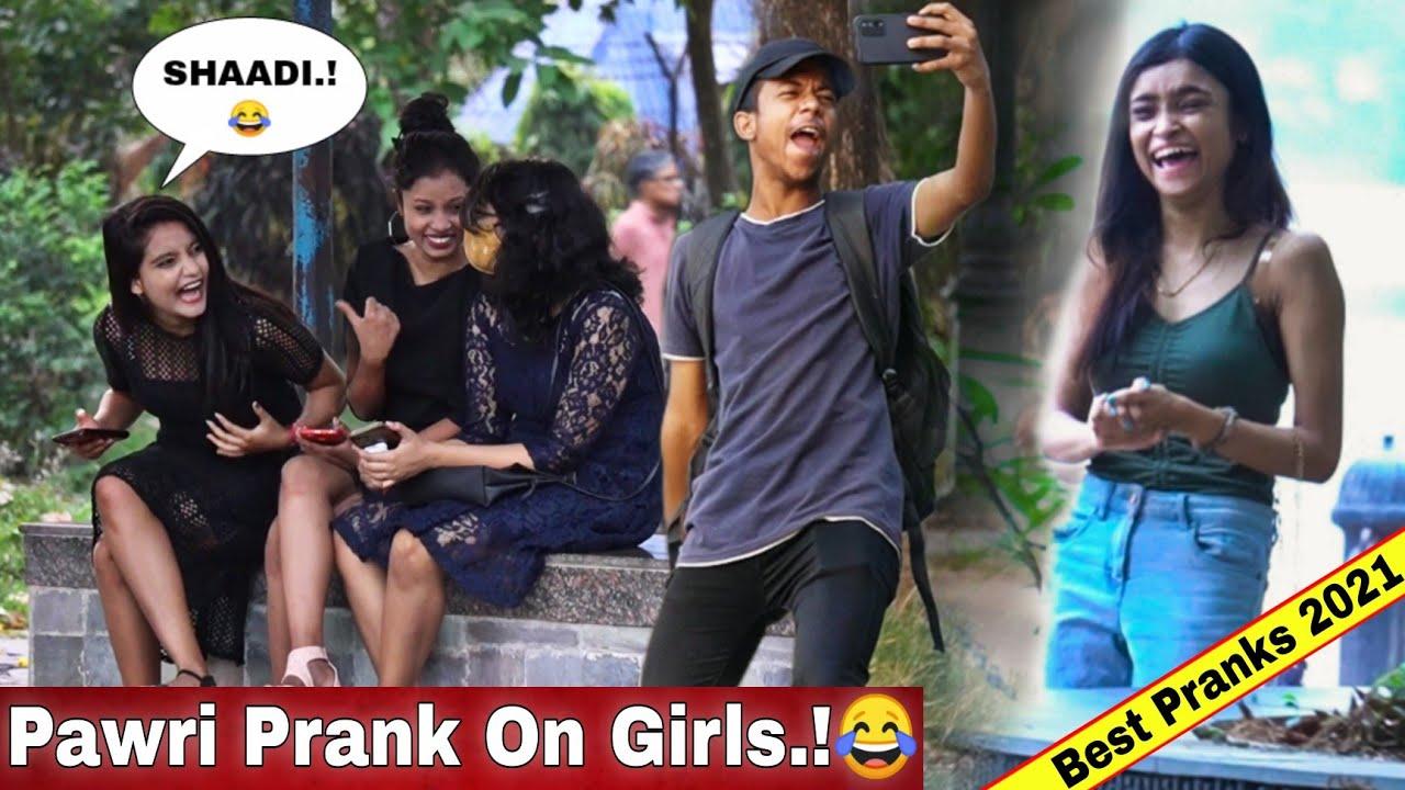 PAWRI HO RAHI HAI PRANK ON CUTE GIRLS! 😂 | ALL TIME HIT BLOCKBUSTER PRANKS OF 2021 | VINE HUNT |