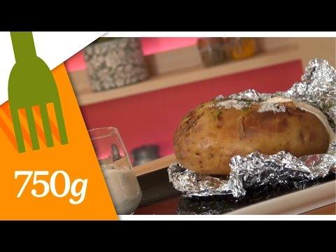 recette-de-pommes-de-terre-au-four-crème-aux-herbes---750g