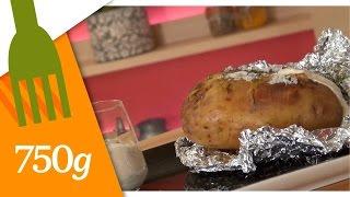 Recette de Pommes de terre au four crème aux herbes - 750g