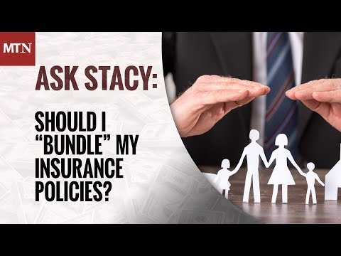 "Should I ""Bundle"" My Insurance Policies?"