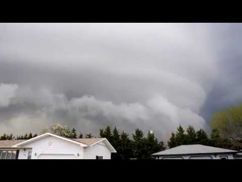 Storm Cloud in Smith County, Kansas
