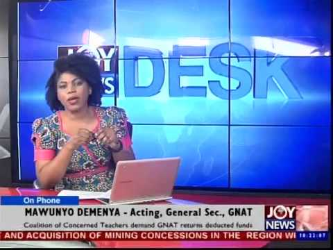 Pupils teachers in Ghana Asked to Proceed on Leave - News Desk (10-9-14)