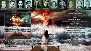 Alarion - Waves of Destruction - II - Struggle for Survival | ft. Damian Wilson (Threshold)