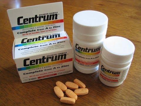 اقراص فيتامين سنتروم centrum  و فوائده السحريه لحل مشكلة تساقط الشعر و الاظافر