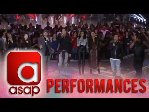 ASAP: 90's OPM Hitmakers together with Sarah, Yeng, Ogie & Piolo perform a rocktastic number