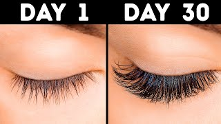11 Quick Ways to Grow Long Eyelashes in 30 Days