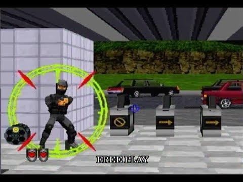 Virtua Squad 2 (1997) PC Playthrough - NintendoComplete