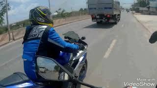 Tai nạn khi trên đường tham dự Đại Hội Moto ở Giang Điền, Đồng Nai | Phạm Hoài Z900