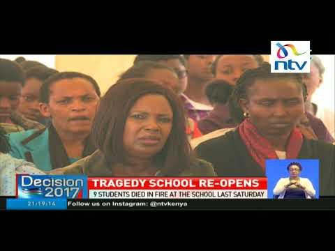 Moi girls Nairobi school form 4 students resume classes thumbnail