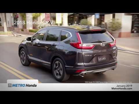 2018 Honda CR-V Lease Special - Metro Honda (January 2019)