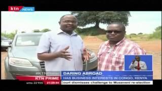 Daring abroad : Wilbur Mutiva, a Kenyan businessman who drives from Lubumbashi city to Kenya