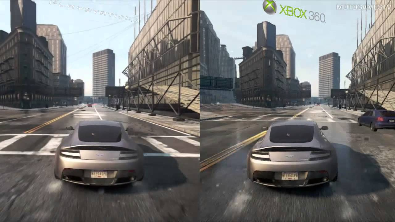 Need for Speed Most Wanted 2012 - PS3 vs Xbox 360 - Graphics Comparison - YouTube