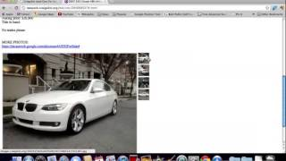 Craigslist New York City Used Cars   BMW and Honda Popular