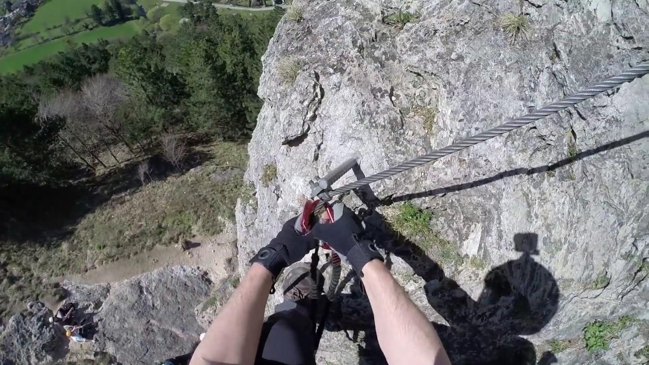 Klettersteig Türkensturz : Pittentaler klettersteig test p kbit youtube