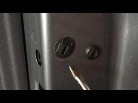 Audi VW Door Lock Actuator Fix