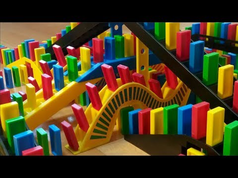 AMAZING Domino Rally Trick Screen Link!