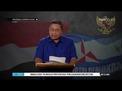 SBY Berikan Apresiasi untuk Jokowi dan Prabowo