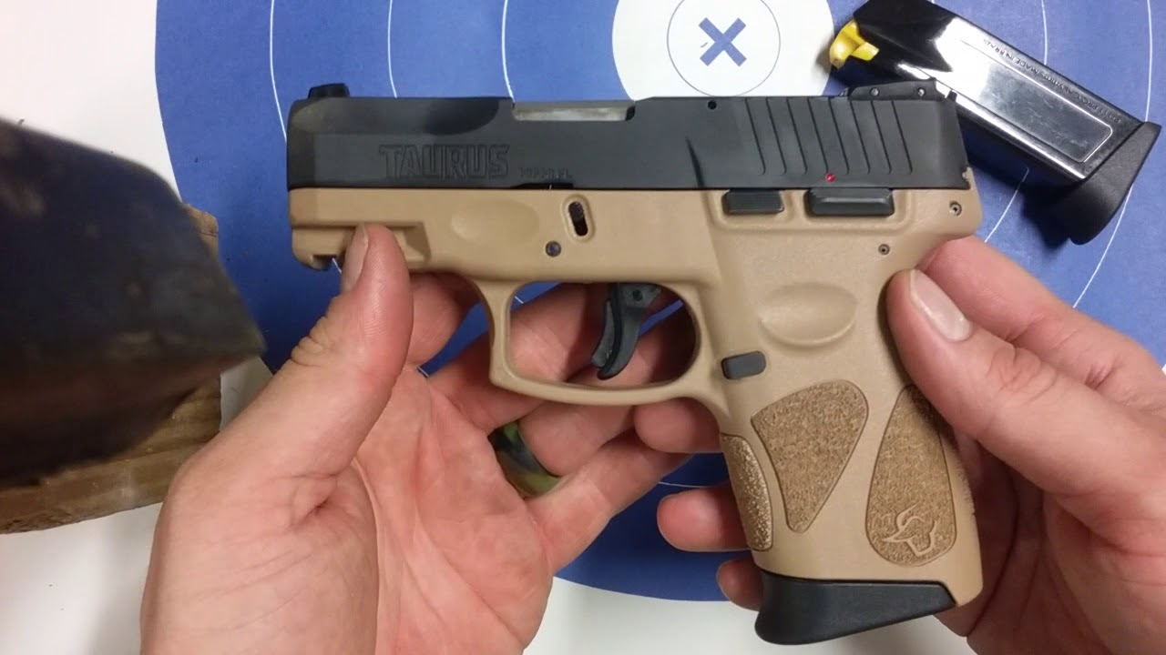 Taurus G2C Limp Wristing Test by Nick Oetken
