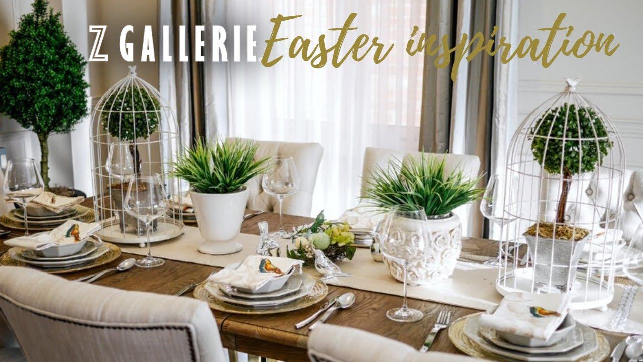 Z Gallerie Inspired Diy Easter, Z Gallerie Dining Room Ideas