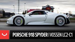 Porsche 918 Spyder   Vossen Forged LC2-C1