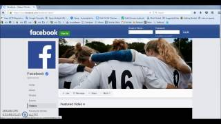 How To Download A Facebook Video In PC 2017 100% Works