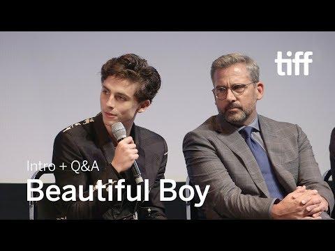 BEAUTIFUL BOY Cast and Crew Q&A | TIFF 2018