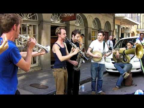New Orleans Dixieland on Street Mp3
