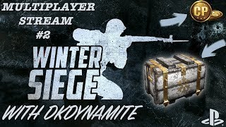 """CALL OF DUTY: WWII MULTIPLAYER STREAM #2! """"WINTER SIEGE"""" EVENT! NEW WEAPONS, MAP & SUPPLY DROPS"""